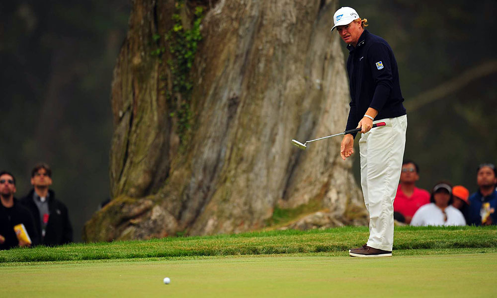 Ernie Els eagled the seventh hole Sunday for the second time this week. He played that hole six under through four rounds, but finished four over for the tournament.