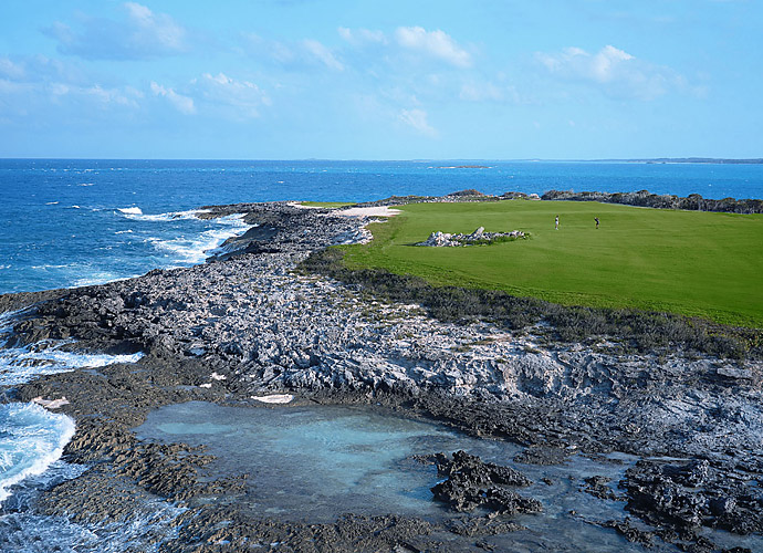 14. Sandals Emerald Reef Golf Club in Great Exuma, Bahamas: What could possibly be bad about a sturdy, breezy, 7,001-yard layout that twists through seaside dunes, mangroves and rock outcroppings on the front nine and that edges the gorgeous Caribbean waters of the Emerald Bay Peninsula on the back? Norman's typical bold bunkers spice the play even further.