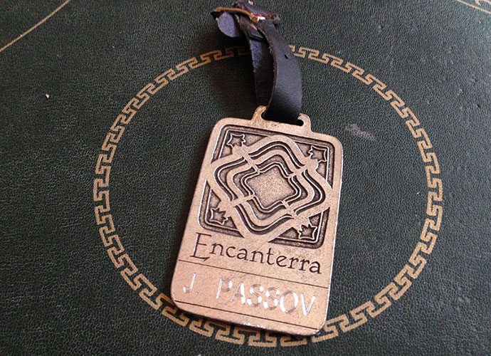 I played the brand-new private Encanterra club with its co-designer, Tom Lehman, in January 2008. Lehman displayed a refreshing design style that emphasized playability and variety and he showed infinite patience -- and humor -- in accommodating my loose shots.