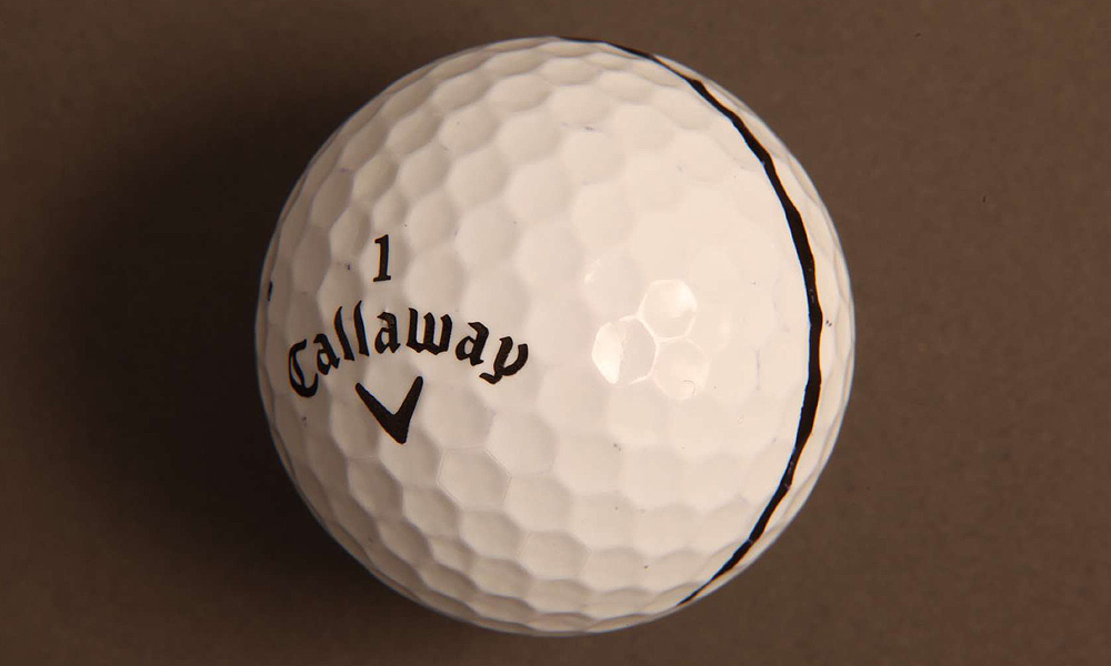 Els won his fourth major championship using a Callaway Hex Black Tour ball.
