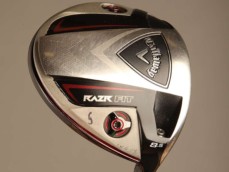 Els uses a Callaway RAZR Fit driver (8.5˚) with a Fujikura Motore Speeder 7.2 X shaft.