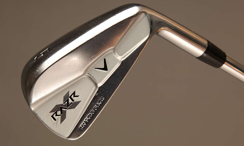 The hall of famer from South Africa uses a Callaway RAZR X Muscleback irons (5-PW) with KBS Tour X shafts.