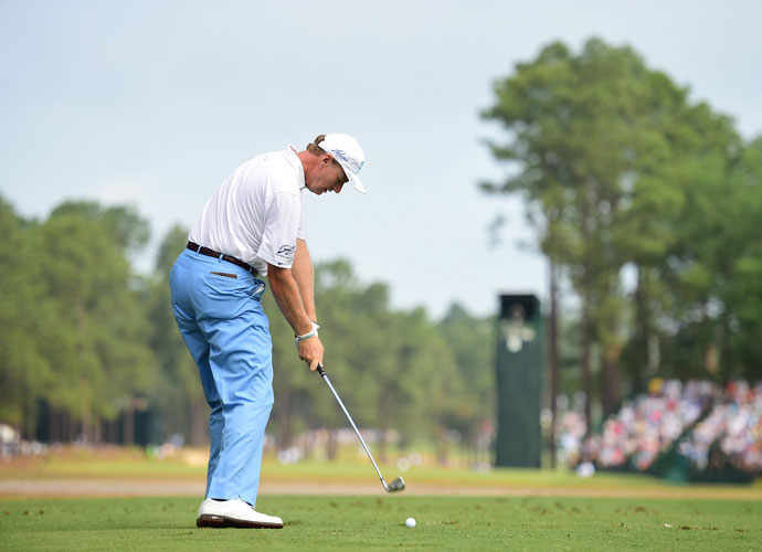 Ernie Els carded a second-round 70 and was T44 +4.
