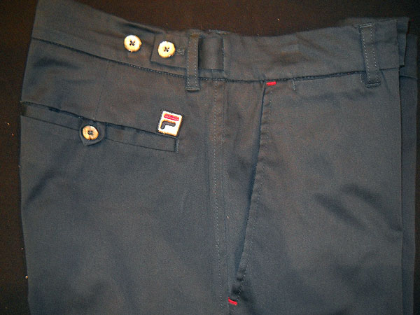 FILA Golf Slacks                           FILA, whose Korean parent company recently acquired Acushnet, is seeking to expand in the United States. These trousers have clever details, including tee pockets and waist adjusters, to give a guy a little relief after a stop at the halfway house.