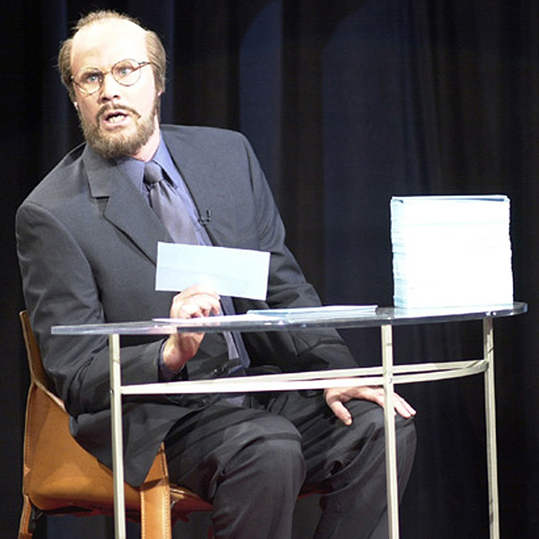 "James Lipton (Saturday Night Live)                           ""He would never get off on the first tee — he'd be too busy talking about himself and telling insane stories about actors that you didn't care about and had never heard of."""