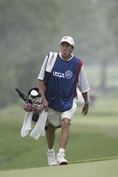 Bruce Edwards                       Edwards caddied for Tom Watson from 1973 until 1989, but after a brief stint with Greg Norman, returned to Watson's bag from 1992-2003. He was diagnosed with ALS in 2003 but continued to caddie. Edwards lost his battle with ALS in 2004, the day after he had received the Ben Hogan Award from the Golf Writers Association of America.