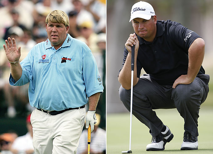 Tackle                           John Daly and Brendon De Jonge seem trustworthy enough to cover quarterback Phil's blindside, right?