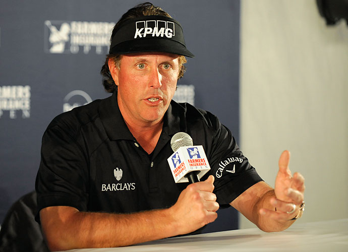 """Born in San Diego, Mickelson is known as a California man, but that wasn't always a certainty. In January 2013, Mickelson discussed possible plans of leaving the state because of high tax rates.                       """"I'm not sure what exactly, you know, I'm going to do yet. I'll probably talk about it more in depth next week. I'm not going to jump the gun, but there are going to be some. There are going to be some drastic changes for me because I happen to be in that zone that has been targeted both federally and by the state and, you know, it doesn't work for me right now. So I'm going to have to make some changes.""""                       He would regret it later, releasing a statement of apology. """"Finances and taxes are a personal matter, and I should not have made my opinions on them public,"""" Mickelson said. """"I apologize to those I have upset or insulted, and assure you I intend to not let it happen again."""""""