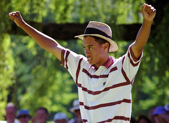 1993                                   Tiger Woods plays in three PGA Tour events as an amateur, failing to make a single cut. He turns 18 in December.