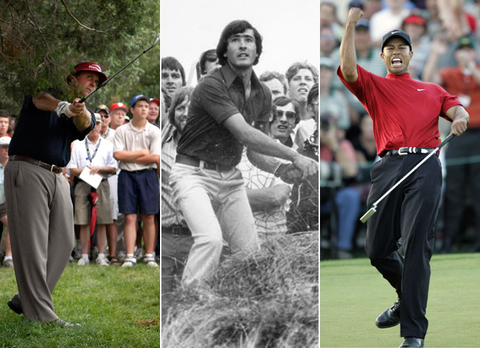 We polled Golf Magazine's Top 100 Teachers and asked them to name their top scramblers of all time, across all eras. They were free to choose any player and could consider any factor they believed to be key to a player's success. Here are their choices, beginning with players who earned honorable mention and finishing with the eight greatest escape artists of all time.