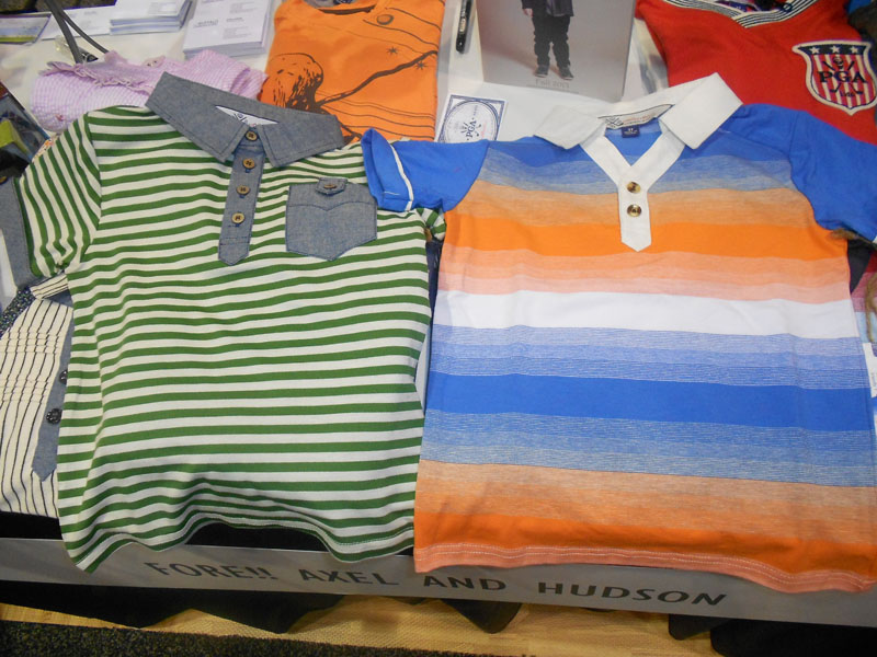Two more examples from Fore!! Axel & Hudson's adorable children's clothing collection.