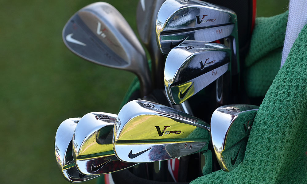 Francesco Molinari plays VR Pro Blade irons.