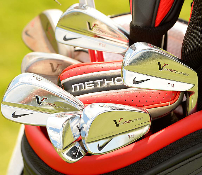 Francesco Molinari also uses Nike VR Pro Combo irons.