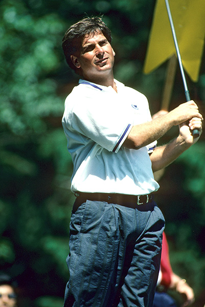 8. Freddie in 1993: Fred Couples was sailing along, nursing a four-shot lead with six holes to play, before he hit an iceberg at Weston Hills. He bogeyed 13 with a three-putt, flared a 9-iron for a bogey at 14, and splashed at 4-iron at 15 for a double. When he bunkered his 3-iron at the par-3 17th, it appeared that Robert Gamez would claim the win, thanks to birdies at 17 and 18. Not so fast. Bam! Boom Boom holed his bunker shot -- just Freddie being Freddie -- and captured the event in a two-hole playoff.