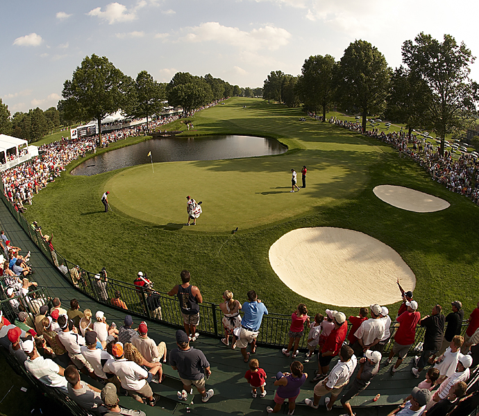 No. 1                           667 yards -- 16th, Firestone Golf Club                           Home of the WGC-Bridgestone Invitational