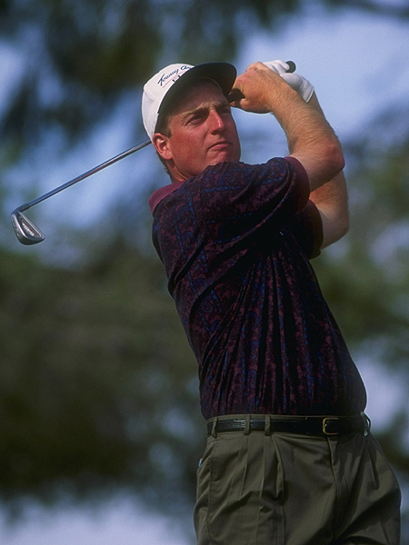 "Can you pinpoint the moment when you realized, Hey, I'm good enough to play golf for a living?                           Joe Sullivan                           My first year on the PGA Tour was 1994 and my second event was the Tucson Open. I was tied for the lead after three rounds — I shot 31 on the back nine on Saturday. On Sunday I played OK. I shot 1-under, 71, and finished tied for seventh. I lacked experience and maybe some confidence, and was a little nervous. I realized at that point that I wasn't maybe as consistent as the best players on Tour, but I belonged out there, that I could compete and win at that level if I played very well. That's a great feeling, but you still have to go out and play. I had had some friends make the Tour before and they said it hit them like a ton of bricks: they had achieved their goal getting to the Tour, and then they thought, ""Oh, shit, I've got to play against the best players in the world!"""