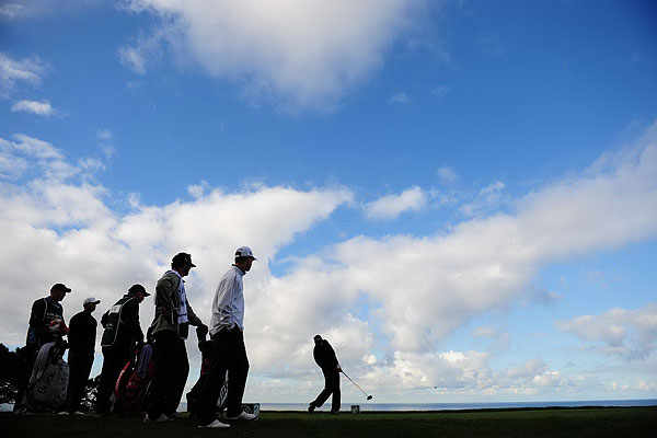 Jim Furyk has failed to make the cut in either of his two previous appearences at Torrey Pines. On Thursday he shot 73.