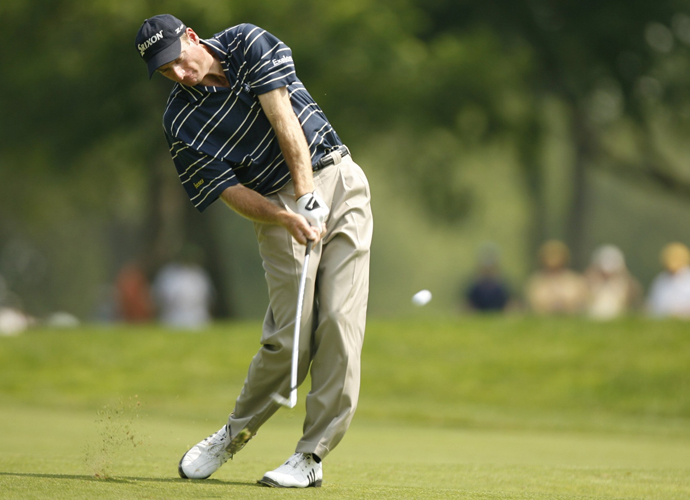 1: Jim Furyk                         Furyk was nominated by 65 percent of our voters, nearly 20 percent more than any other player. Clearly his swing has built a reputation for himself. It has also built up a bank account for the guy, who has made nearly $60 million in his playing career.