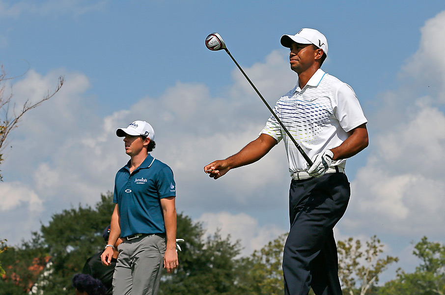 McIlroy and Woods entered the Tour Championship ranked first and second in the FedEx standings. Woods shot 66 in the first round and went on to tie for eighth, while McIlroy fired 69 and tied for 10th. Brandt Snedeker won the event and the FedEx Cup Cup.