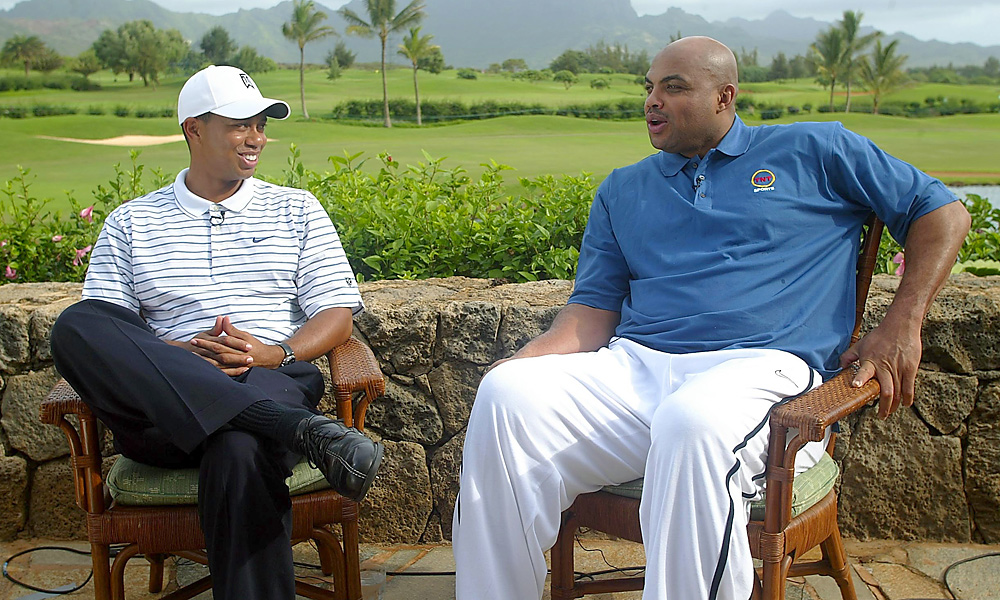 Woods and ex-NBA star Charles Barkley have reportedly played many rounds together.