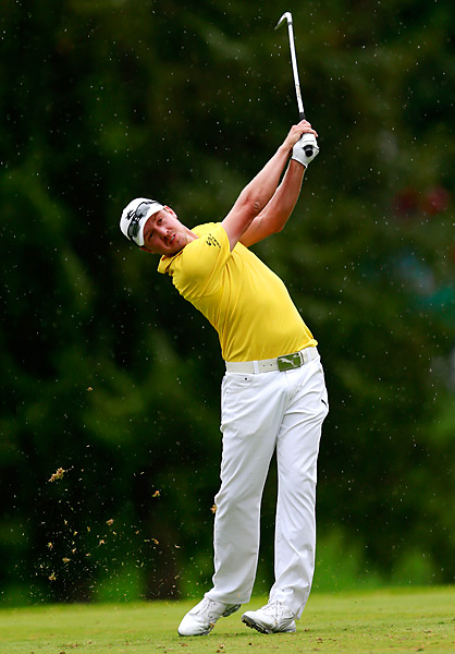 Jonas Blixt shot a 67 to surge past Johnson Wagner and win the Greenbrier Classic for his second career title.