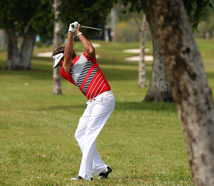 """""""I always have four sandwiches in my bag, two turkey and cheese and two peanut butter and jelly. No real reason, except that I like them."""" --Bubba Watson"""