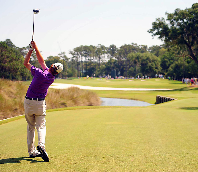 Unheralded Roberto Castro grabbed the headlines in round 1 with a course-record-tying 63.