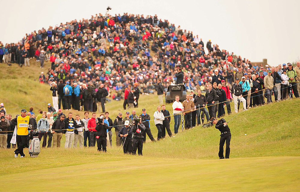 Schwartzel finished tied for 16th at the British Open at Royal St. George's.