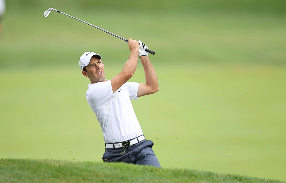 In his first major since his breakthrough at the Masters, Schwartzel finished tied for ninth at the U.S. Open.