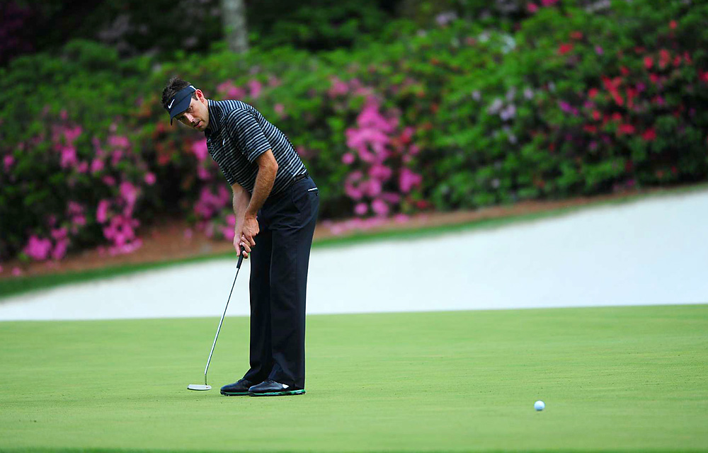 Schwartzel birdied his final four holes on Sunday at the Masters to make a stunning charge up the leaderboard.