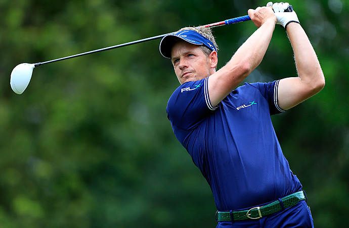Defending champion Luke Donald shot a 69 and tied for fourth.