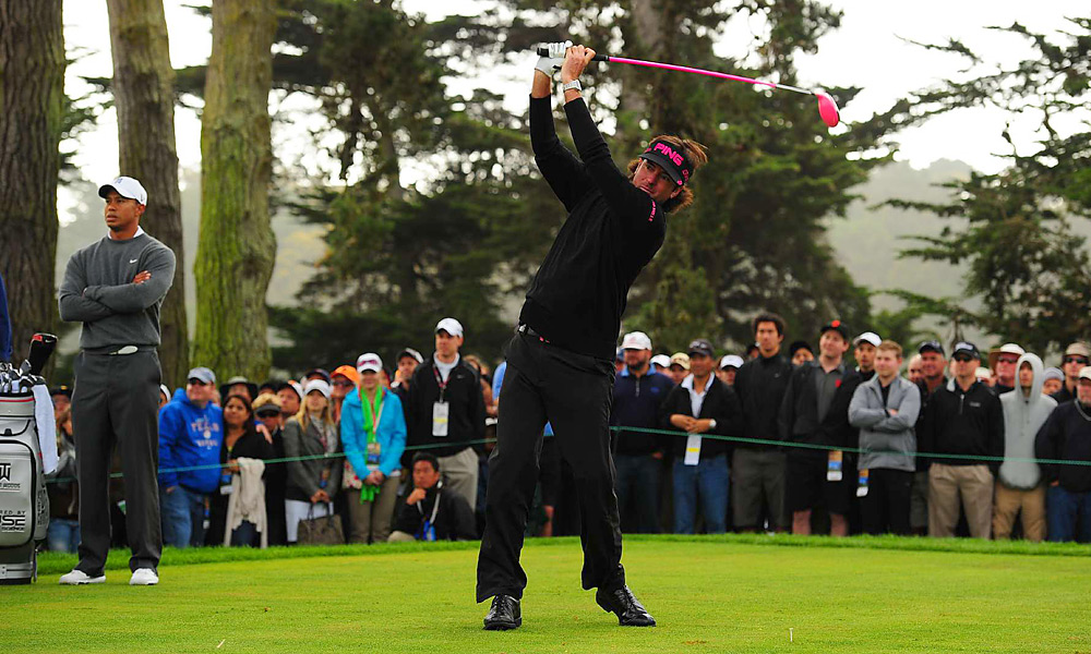 Driving Distance: Bubba Watson, 315.5 yards