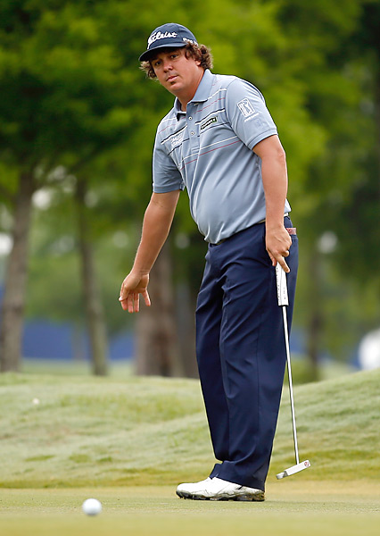 Jason Dufner, the defending champion, shot a 72 and tied for 42nd.