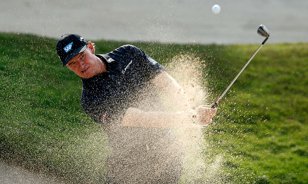 Ernie Els shot a 67 and tied for second.