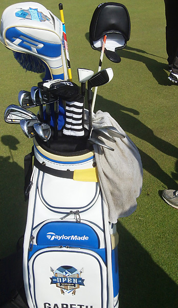Gareth Maybin uses TaylorMade RocketBladez Tour irons.