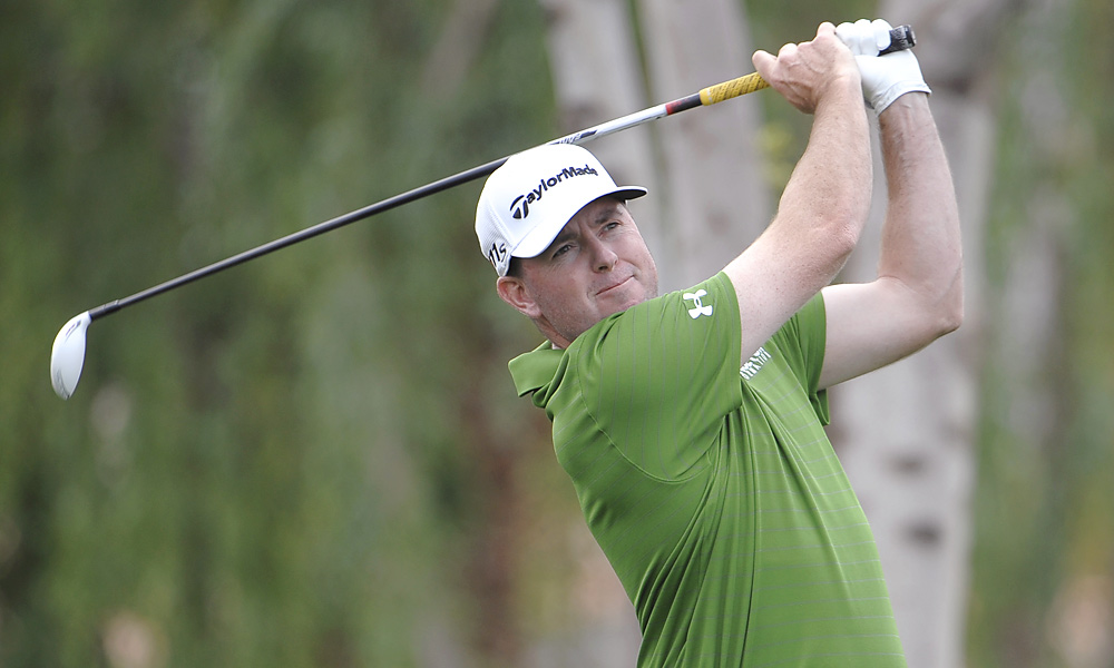 Garrigus shot a fourth-round 68 to finish in a three-way tie for second.