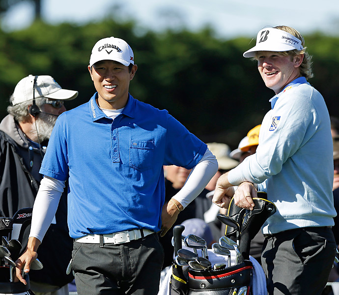 Snedeker was paired with rookie James Hahn in the final group on Sunday. Hahn shot a 70 to tie for third.