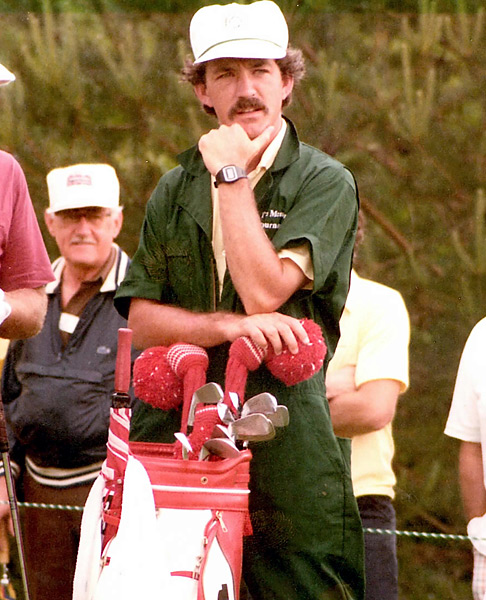 Harmon's tenure as a Tour caddie didn't help curb his reckless lifestyle.                                                          Related: Read the story from the August 2012 issue of Golf Magazine