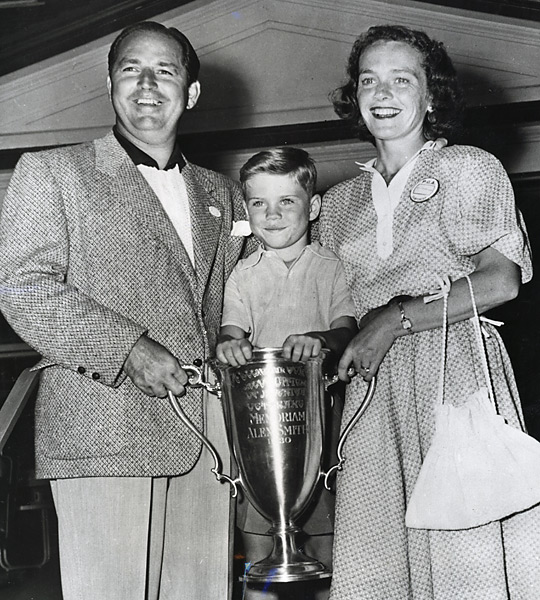 Claude with wife, Alice, and their firstborn, Butch, who went on to become one of the game's most renowned teachers.                                              Related: Read the story from the August 2012 issue of Golf Magazine