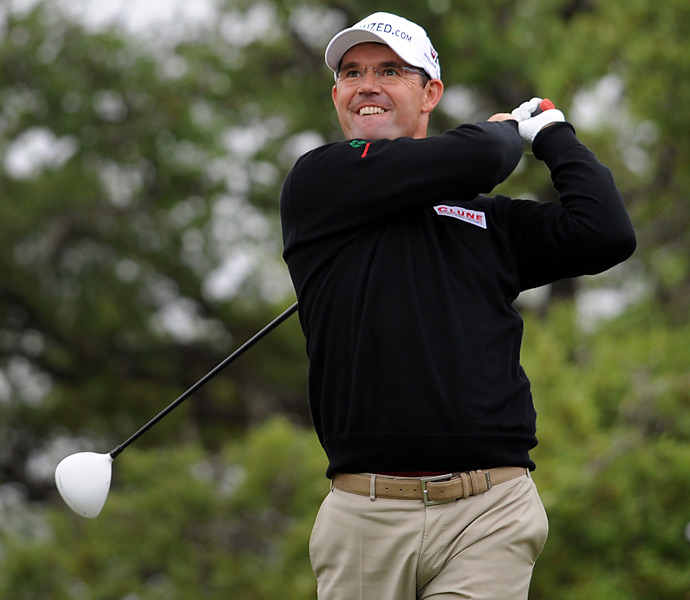 Padraig Harrington shot a 70 and tied for 10th.