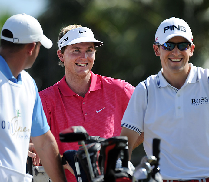 Fellow Tour rookies Russell Henley and Scott Langley were paired together for the final round.