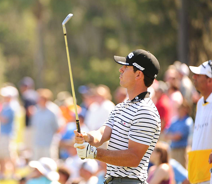 Billy Horschel struggled to a 76.