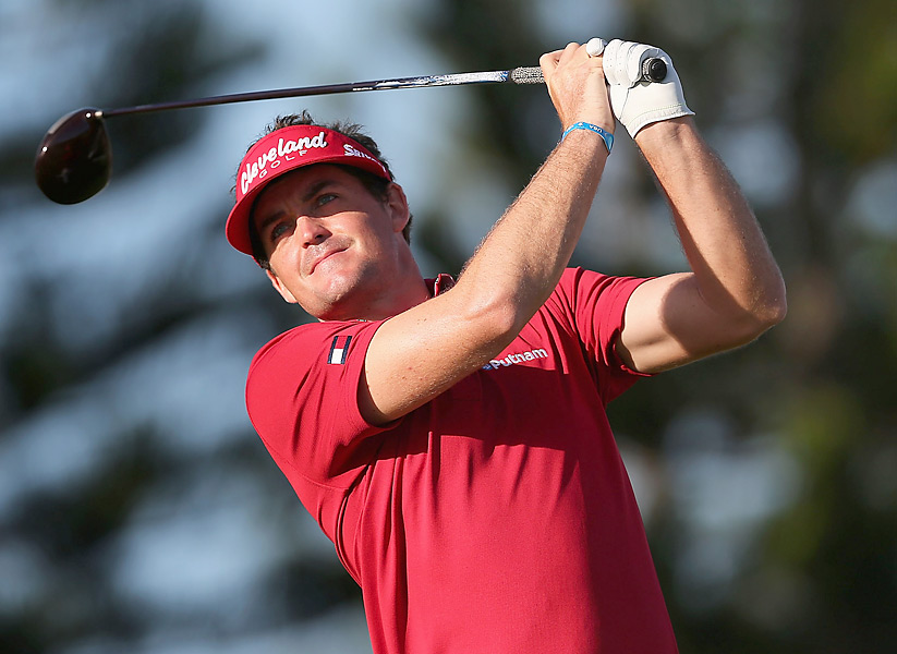 Keegan Bradley began the final round five shots behind Johnson. He shot a 70 and tied for fourth.