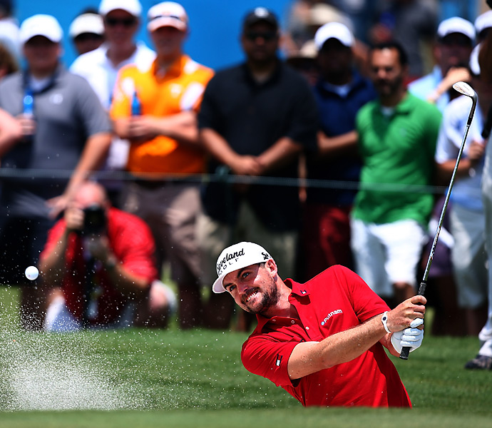 Bradley shot a one-over 72 and finished two shots behind Bae.