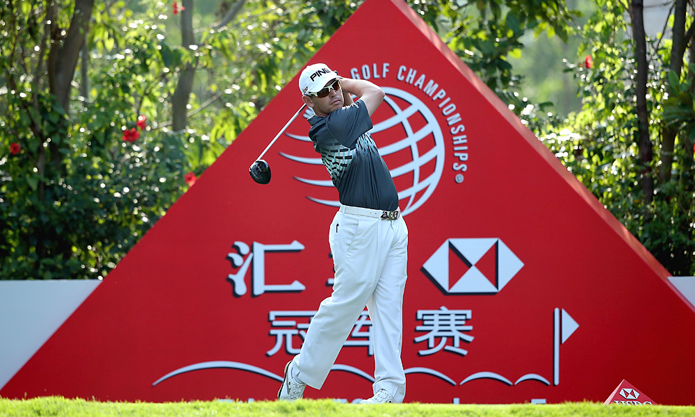 Louis Oosthuizen matched Scott with a 65 to share the opening-round lead.