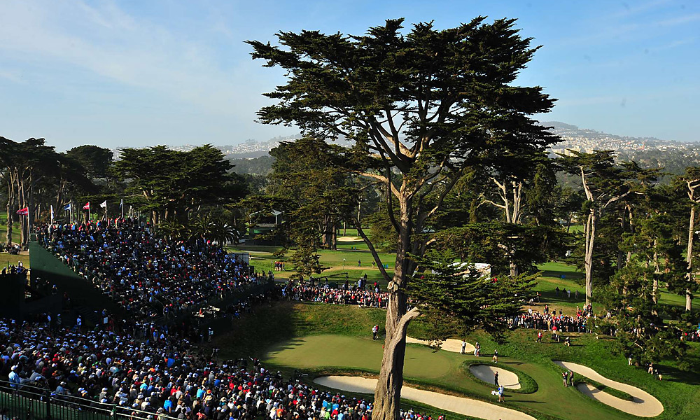 Olympic Club, site of the U.S. Open, was one of the most scenic stops on Tour in 2012.