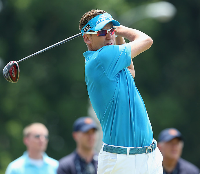 Ian Poulter struggled to a Sunday 76 and tied for 51st.