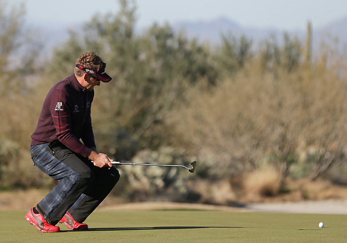 Ian Poulter lost in the semis to Hunter Mahan. He then lost the third-place match to Jason Day.