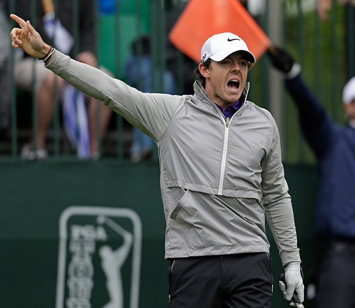 Rory McIlroy shot a 73 and finished four shots out of the playoff.