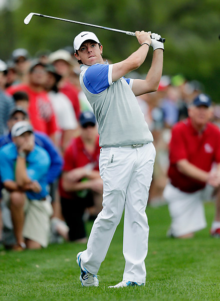 McIlroy rang up eight birdies against two bogeys on Sunday.